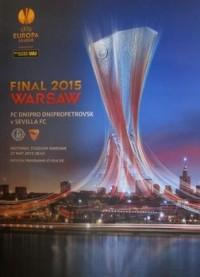 Футбольная программа Днепр - Севилья Финал Лиги Европы-2015