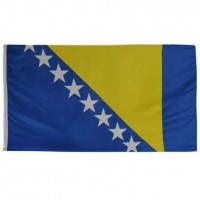 Флаг Боснии и Герцоговины