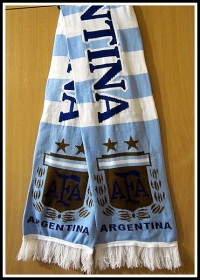 Шарф Аргентина сборная по футболу