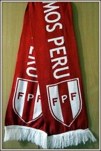 Шарф сборная Перу по футболу