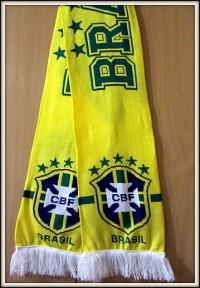 Шарф сборная Бразилия по футболу