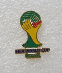 Значок Эмблема ЧМ-2014 в Бразилии