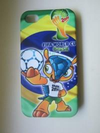 Чехол для iPhone 4 ЧМ Бразилия-2014