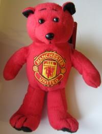 Мягкая игрушка - мишка Манчестер Юнайтед