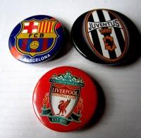Значок Ливерпуль, Барселона, Ювентус на выбор