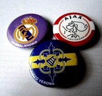 Значок Реал, Аякс, Верона на выбор