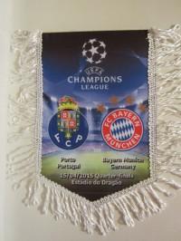 Вымпел матчевый Порту - Бавария