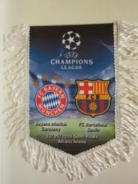 Вымпел матчевый Бавария - Барселона