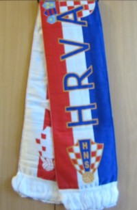 Шарф сборной Хорватии
