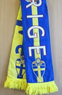 Шарф Сборной Швеции по футболу