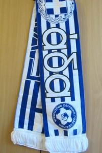 Шарф Сборной Греции по футболу