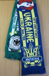 Матчевый шарф Украина - Германия 12.06.2016
