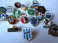 Значки футбольных клубов Украины