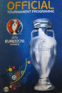 Официальная программа Евро-2016 англ. яз.