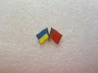 Значок Украина - Китай