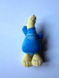 Мягкая игрушка талисман Олимпиады-2004 в Афинах