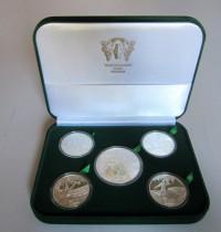 Набор монет к ЕВРО-2012 ( серебро)