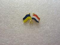 Значок Украина - Нидерланды